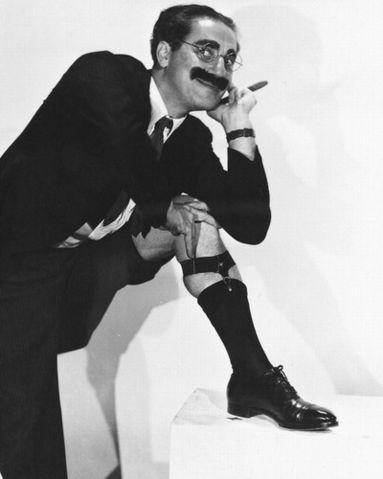 """""""Estos son mis principios; si no le gustan, tengo otros"""" (Groucho Marx)"""