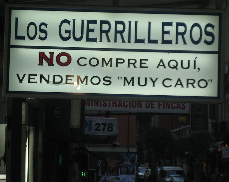 Los Guerrilleros (Por Arkaitz Zubiaga)