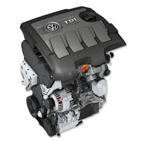 1.6 TDI Motor/Polo: 55 kW / 75 PS, 66 kW / 90 PS und 77 kW / 105 PS, Golf, Golf Plus, Golf Variant, Jetta: 77 kW / 105 PS