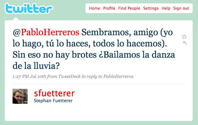 Twittersfueterer