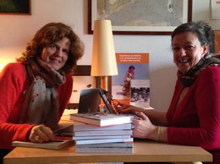 Ana Maury y Rosa Serra, de Memorias Ediciones