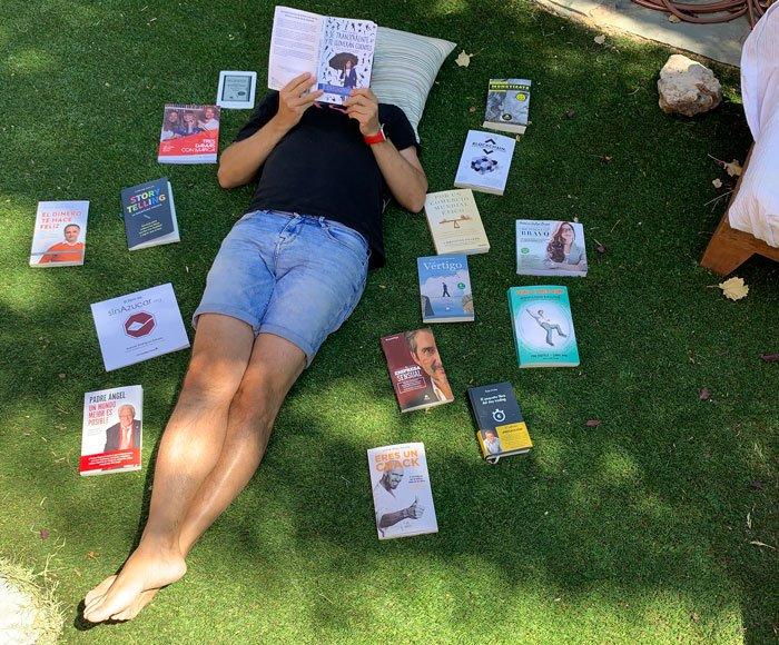 Pablo Herreros recomienda 20 libros este verano
