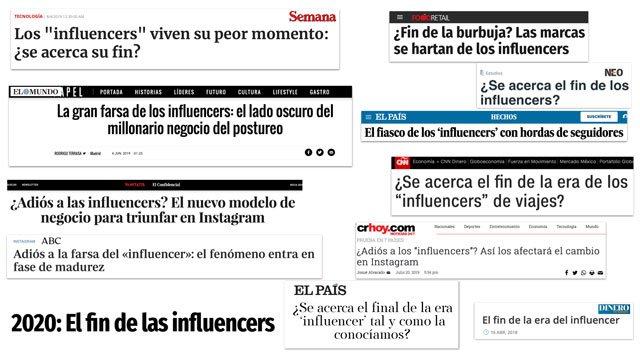 Noticias sobre el fraude de los influencers